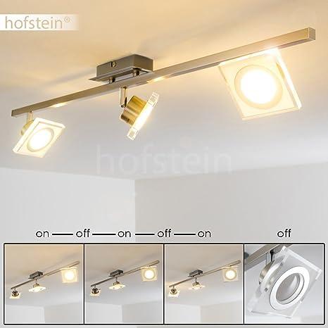 Lámpara de Techo LED Kolari - Lámpara de barra 3x focos 5,5W LED ...