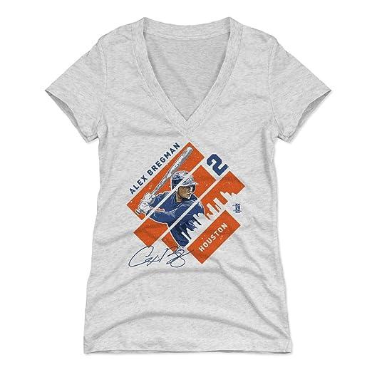 quality design 672db f9b5b Amazon.com : 500 LEVEL Alex Bregman Women's Shirt - Houston ...