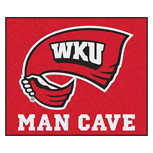NCAA Western Kentucky University Hilltopper Man Cave Tailgater Rectangular Mat Area Rug