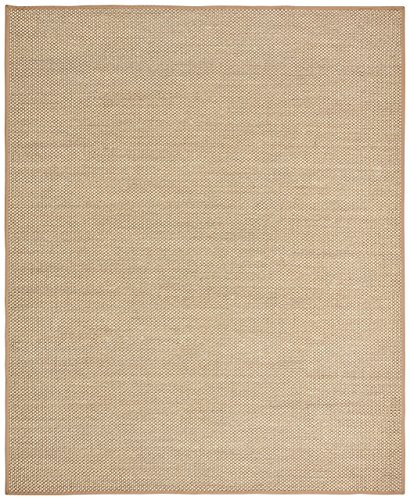 Rivet Woven Bordered Sisal Area Rug, 3' 6'' x 5' 6'', Natural