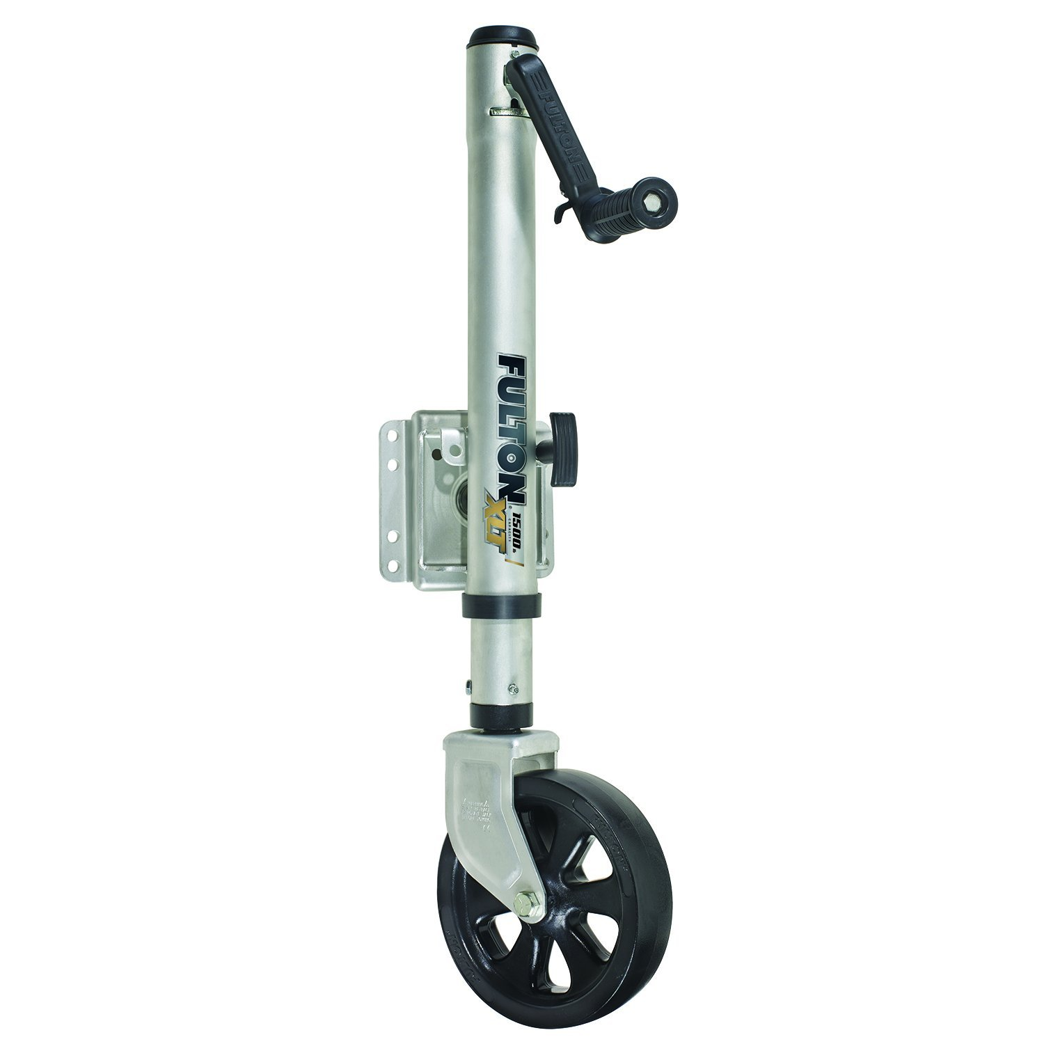 Fulton (141133) XLT Sharkskin Finish Bolt-On Swing-Away Jack - 1500 lb. Weight Capacity by Fulton