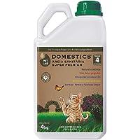 Areia Sanitária para Gatos Petlab Domesctics 4kg