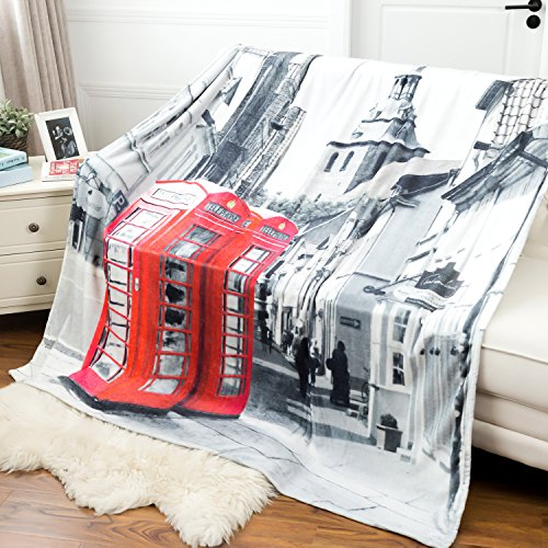 Printed Art Throw Blanket