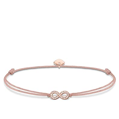 0a080b085ca Thomas Sabo Women-Bracelet Little Secret Infinity 925 Sterling silver  LS032-898-19-L20v: Amazon.co.uk: Jewellery