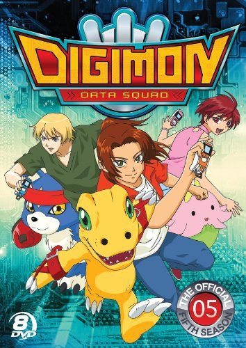 Digimon Data Squad: Season 5 (Boxed Set, 8PC)