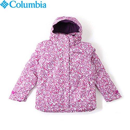 コロンビア(コロンビア)ノルディックジャンプジャケットNordicJumpJacketSG4272キッズスノーウェア(ピンク/110/Jr)
