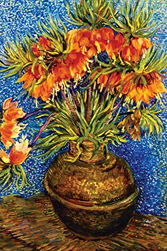 (Walls 360 Peel & Stick Flower Wall Decal: Fritillaries by Vincent Van Gogh (8 in x 12 in))