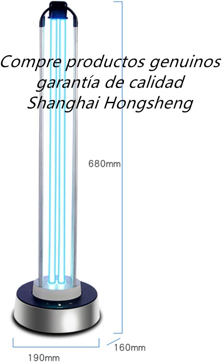 mkjia UVC Lámpara de desinfección de alta potencia 100W Portátil ...