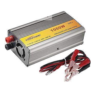 1000 W potencia inversor 12 V DC a 220 V AC coche inversor para Poderes para
