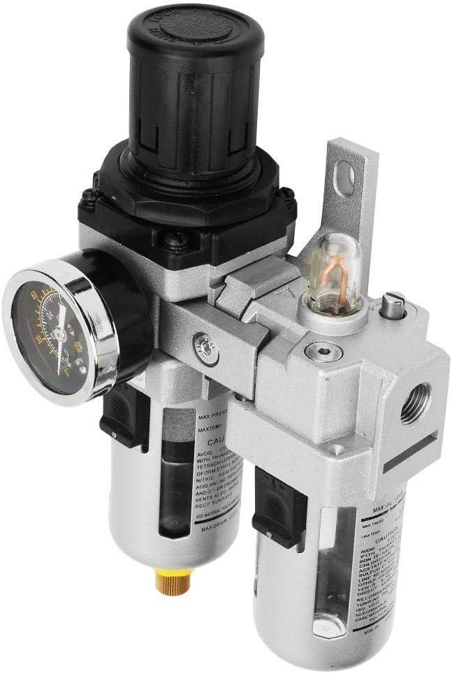 G1//4 Kit de filtre de compresseur de r/égulateur de filtre /à air Air Oil Regulator Tool AC3010-02