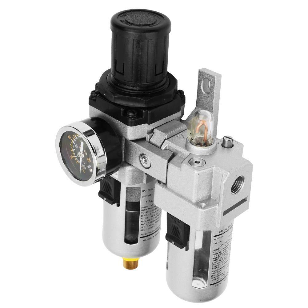 0,05-0,85 MPa 5/μm-80/μm Luftdruckregler Luftfilterregler mit Filterlehre Trap Tools Kit 1//4 Kompressorluftfilter
