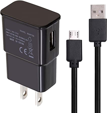 USB Charger Cables for Galaxy J7 Sky Pro / Amazon Fire TV Stick / Compatible Samsung Galaxy S7 / S6 Edge / Kindle Ereader HD 8 HD 10 Tablets Data Sync ...