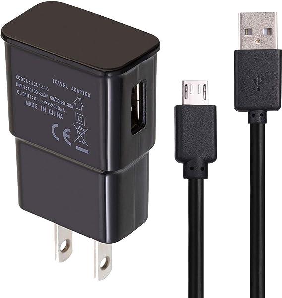 USB Charger Data Cable Compatible with Samsung Galaxy J7, Compatible with T-Mobile REVVL/REVVL Plus (Not for Revvl 2/2 Plus)
