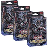 3 x Yugioh 2018 Structure Decks Lair of Darkness Decks Set - 129 cards