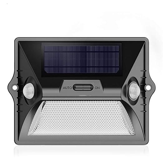 HUI LIGHT Seguro Solar Foco Proyector LED,Foco Impermeable Al Aire ...
