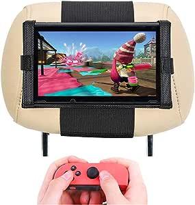 Soporte para Nintendo Switch –Soporte para Reposacabezas del Coche para Nintendo Switch: Amazon.es: Videojuegos