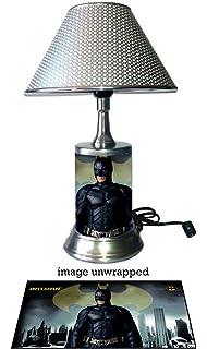 JS Batman Lamp With Chrome Shade