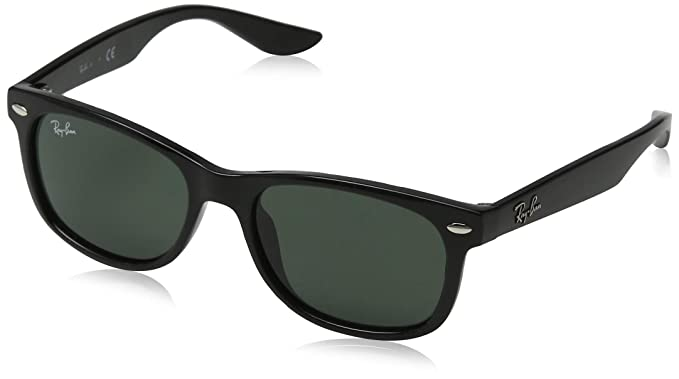 Ray-Ban 0RJ9538S Gafas de sol, Rectangulares, 50, Brushed Gunmetal