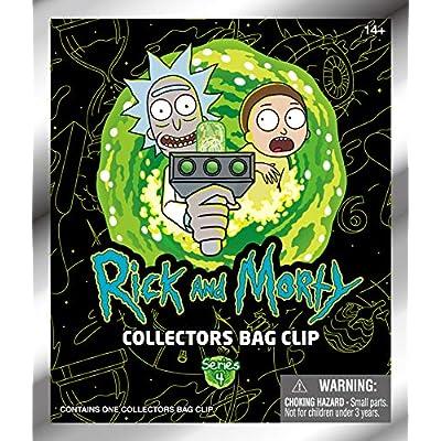 Adult Swim Rick & Morty Series 4 -3D Foam Bag Clip in Blind Bag: Toys & Games