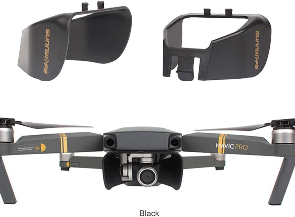 CAIfnv Sun Shade Lens Hood Glare Gimbal Camera Protector Cover for DJI Mavic Pro Gray