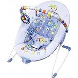 Mummamia Sleep Easy Soothing Vibrations Bouncer, Blue