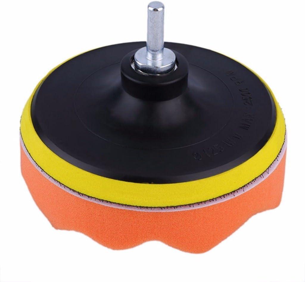 "SHINA 6PCS 5/"" 125mm Sponge Polishing Waxing Buffing Pads Kit Set For Car Polisher M10 Thread"
