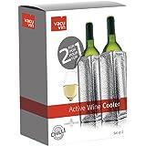 Aktiv Weinkühler silber 2in1