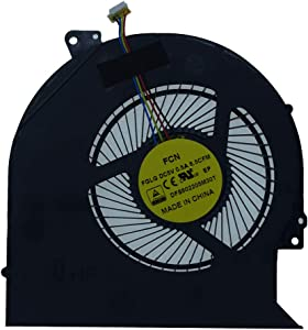 Rangale Replacement CPU Cooling Fan for Precision 3510 M3510 P48F Latitude E5570 Series Laptop CN-04CN35 CN-0H9M9M 0H9M9M H9M9M