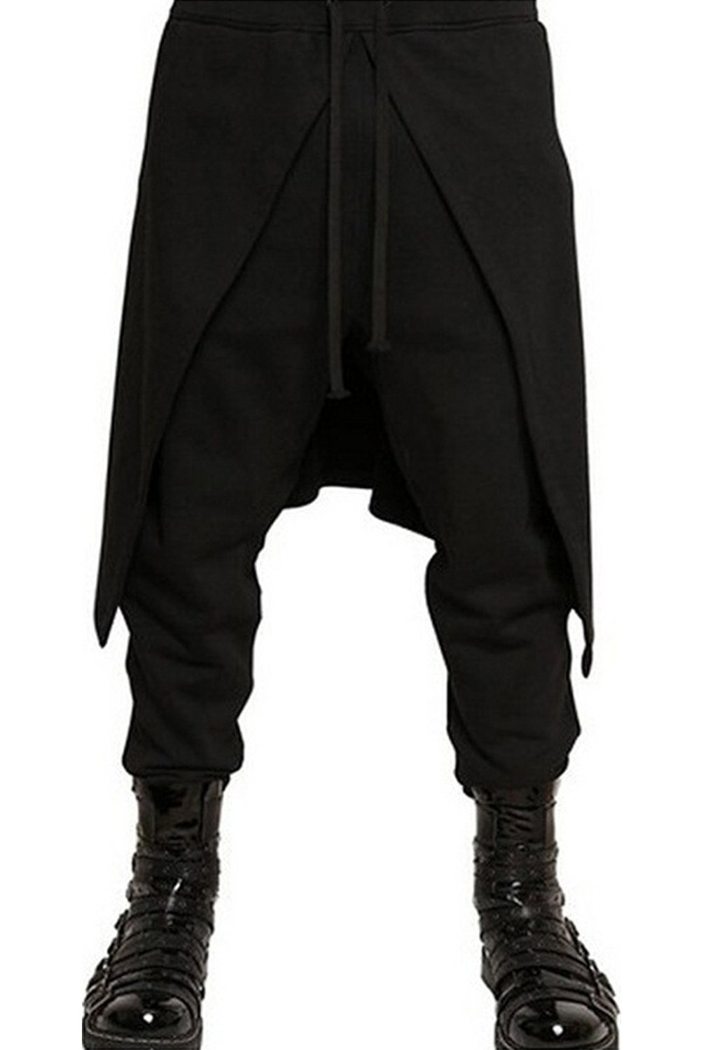 boomtrader Mens Medieval Steampunk Pants Punk Pirate Renaissance Gothic Trousers Costume 3