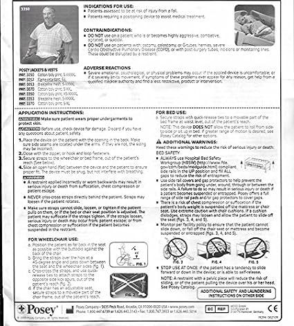Posey 3050xxl Safety Vest Polycotton 2xl Amazon Industrial