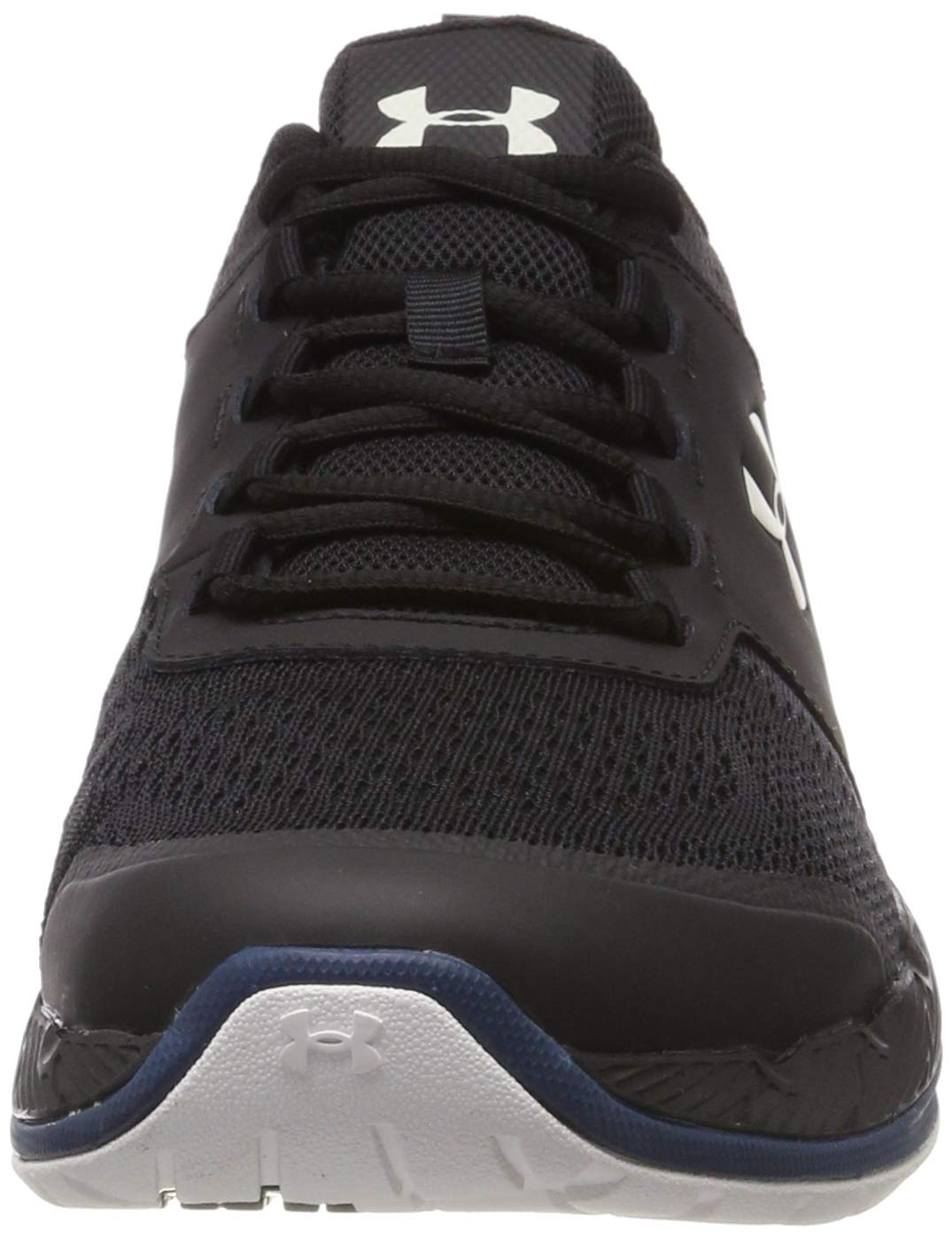 Under Armour Men's Commit TR EX Sneaker, Black (008)/Petrol Blue, 7.5 M US by Under Armour (Image #4)