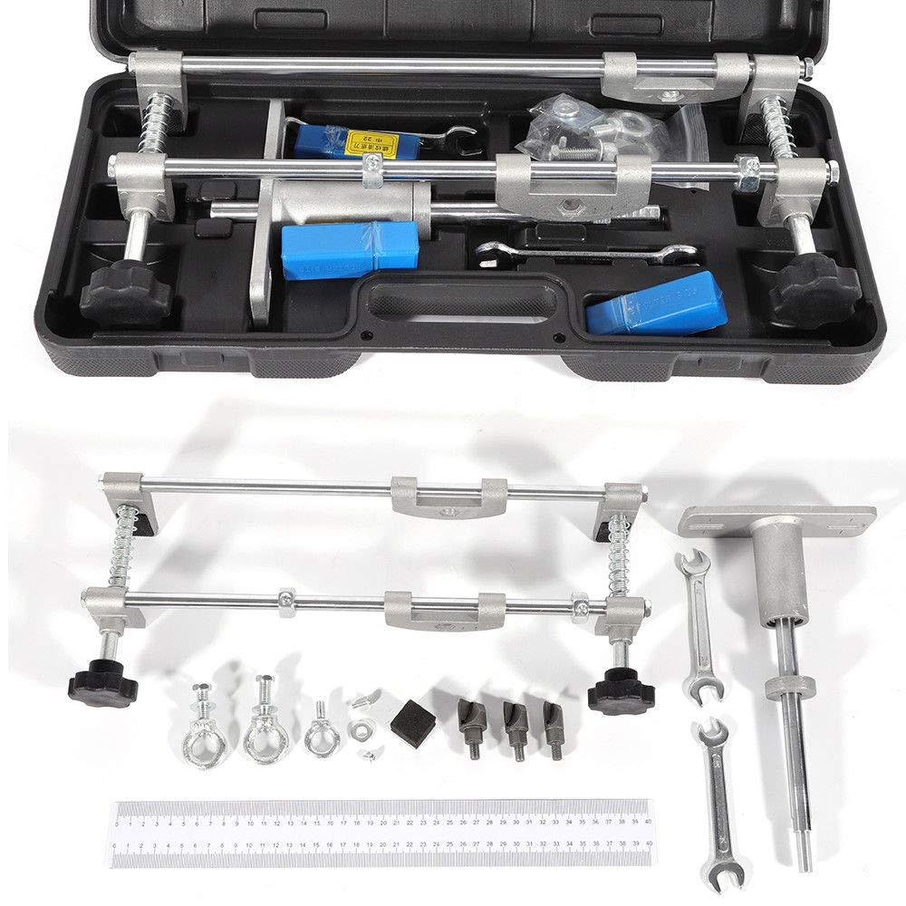 Lock Mortiser, Mortice Lock Fitting Jig Door Lock Mortiser Kit 90mm Perforator Folder Tool with Case (New Upgraded) (USA Stock)