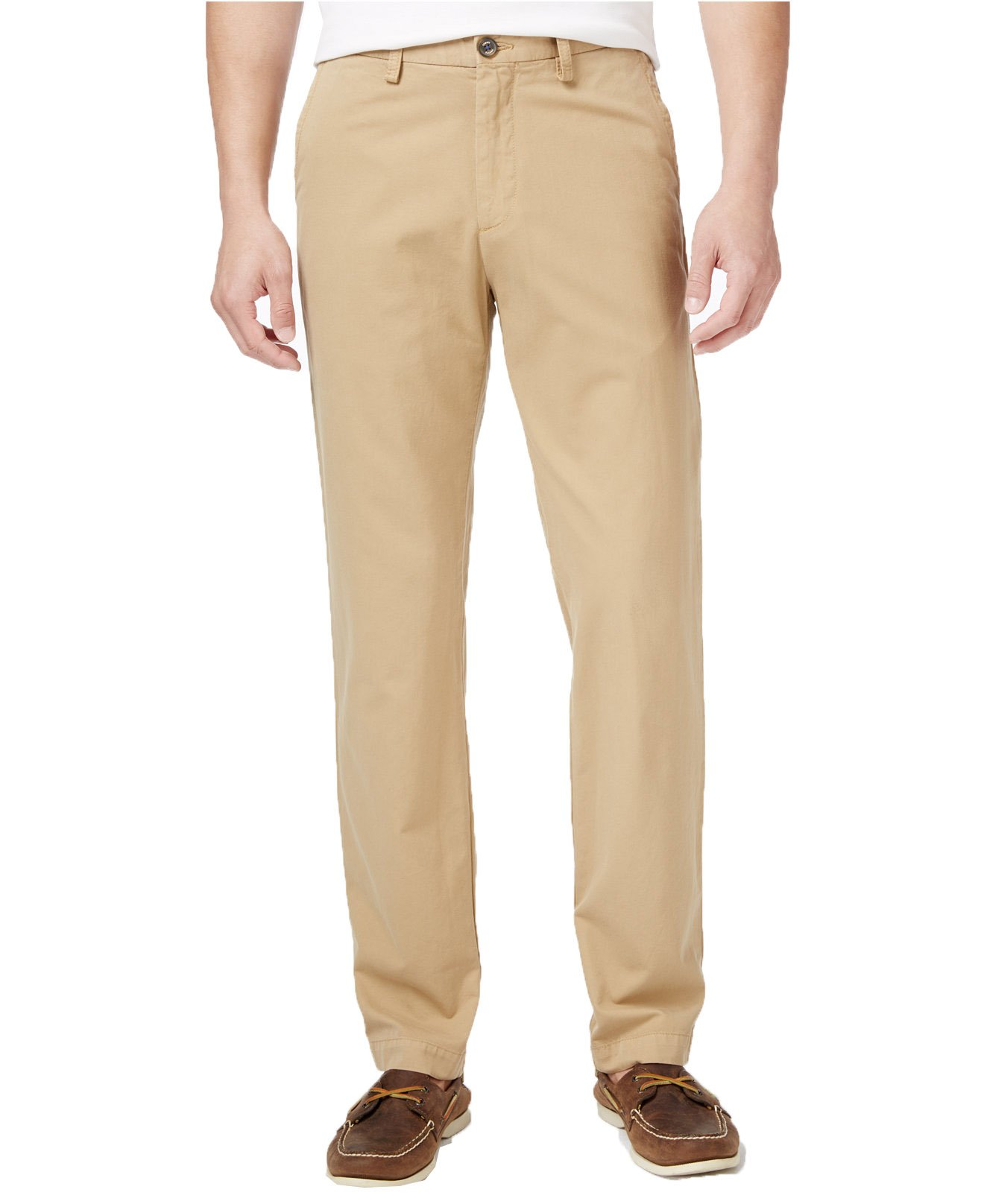 Tommy Bahama Men's Big and Tall Island Chinos (42W x 32L, Tanned) by Tommy Bahama (Image #1)