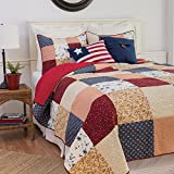 Liberty Patchwork Americana Quilt Set (King)