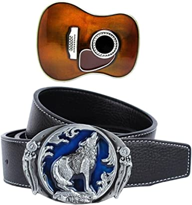 Classic Country Music Guitare Boucle de ceinture Western Cowboy Cowgirl