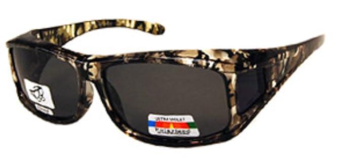 986e9d91ccd Unisex Camouflage Sun Shield Fit Over Sunglasses Polarized - Wear Over  Prescription Glasses - Cover Over
