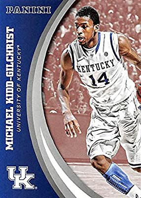 Michael Kidd-Gilchrist basketball card (Kentucky Wildcats) 2016 Panini Team Collection #46
