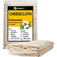 Clarkia Professional Cotton Cheesecloth Unbleached - 1X1 Meter