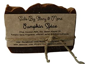 Suds By Stacy and More Pumpkin Spice Homemade Soap Bar