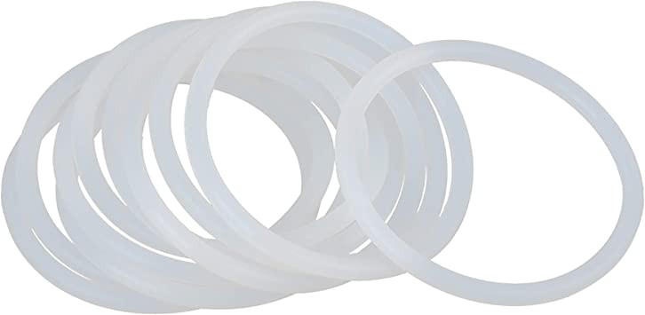 X Autohaux O Ring Dichtung Für Auto Silikon 60 Mm X 4 Mm Weiß 10 Stück Auto