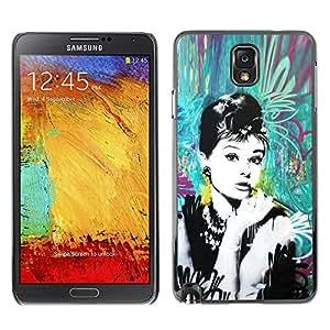 All Phone Most Case / Hard PC Metal piece Shell Slim Cover Protective Case Carcasa Funda Caso de protección para Samsung Note 3 N9000 N9002 N9005 Vintage Retro Film Movie Cinema
