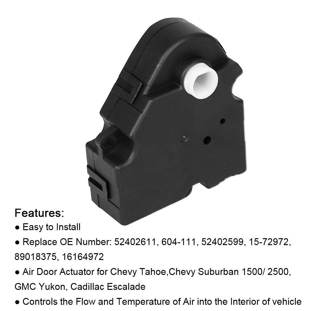16164972 604-111 HVAC Heater Blend Door Actuator For Chevrolet Buick Yukon GMC