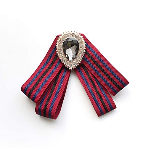 GJongie Broche Broches para Mujer Broches Camisa A Cuadros Corbata ...