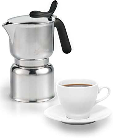Lagostina Brava Espressokocher für 1 Tasse  *NEU*