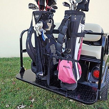32cb99d36404 Amazon.com : Universal Golf Bag Holder Bracket Attachment for Golf ...