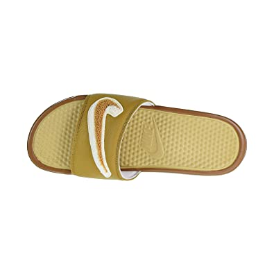 8cd9207585a5 NIKE Men s Benassi JDI Chenille Low-Top Sneakers  Amazon.co.uk ...
