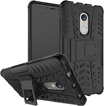 DWaybox Xiaomi Redmi Note 4X Funda Hybrid Rugged Heavy Duty Armor Hard Back Carcasa Funda con