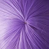 AnotherMe Long Big Wavy Light Purple Hair Women Heat Resistant Fiber Wig Cosplay Party
