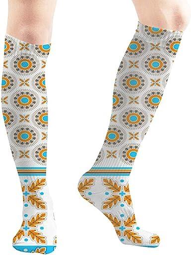 Joy Edward Fábrica de flores Factura Ilustraciones Clip Art Calcetines de compresión Calcetines impresos unisex Divertidos calcetines de algodón sobre el tubo de la pantorrilla: Amazon.es: Ropa y accesorios