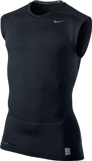 de51cab07de1f Nike Core Compression Sl 2 Men's Compression Shirt, Men, black, X ...